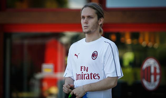 Ален Халилович, фото ФК Милан