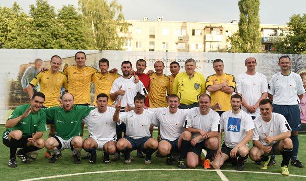 Креди Агриколь Банк и Mastercard обновили футбольную площадку в Харькове