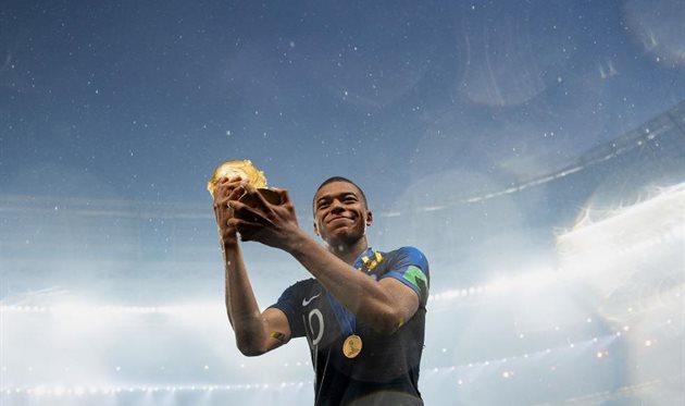 Франция — самый молодой чемпион мира