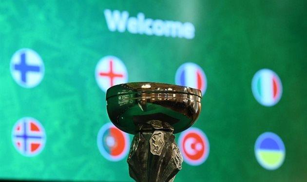 Украина стартует на чемпионате Европы среди 19-летних