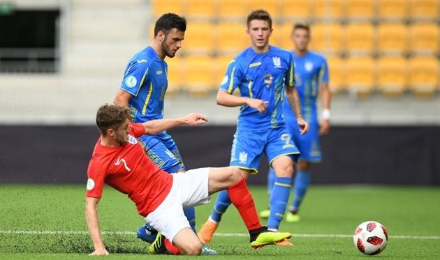 Украина U-19 - Англия U-19, uefa.com