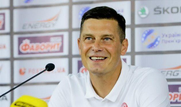 Александр Грицай, фото ФК Заря