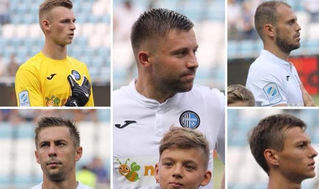 Сразу семь игроков дебютировали за Олимпик в матче против Черноморца