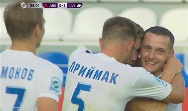 Оба гола дебютанта УПЛ ФК Львов попали в список лучших в первом туре чемпионата Украины