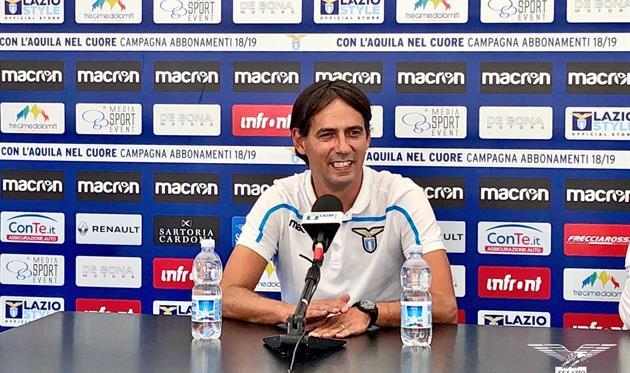 Симоне Индзаги доволен трансферной компанией, фото ФК Лацио