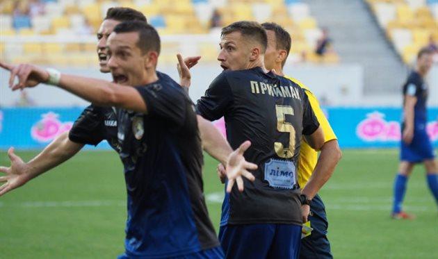 Александр Голиков (слева), ФК Львов