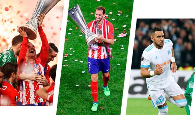 Гризманн в тройке претендентов на звание лучшего игрока Лиги Европы