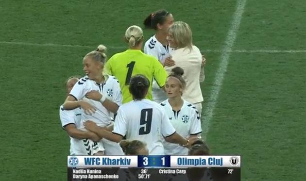 Житлобуд-1 — Олимпия: видео матча женской Лиги чемпионов