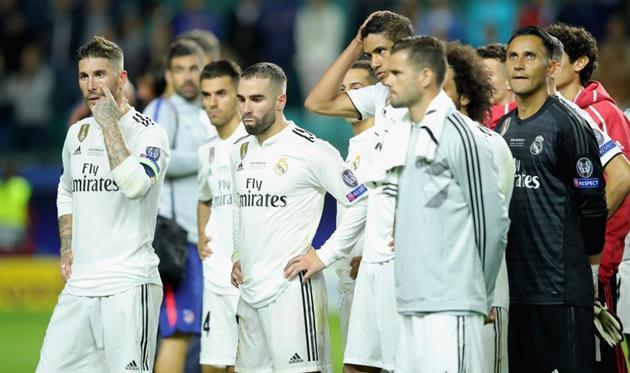 Реал прервал серию из 13 выигранных финалов международных кубков