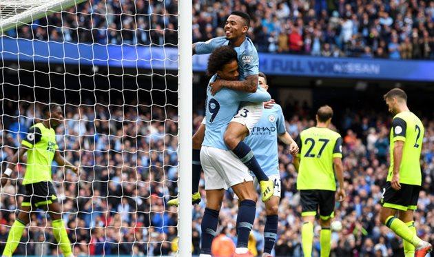 Манчестер Сити — Хаддерсфилд, Getty Images