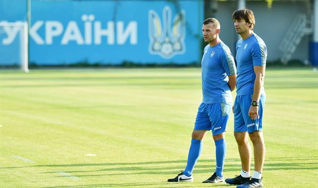 Андрей Шевченко и Александр Шовковский, фото: facebook.com/mykola.vas