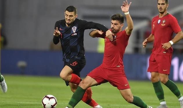 Хорватия сдержала ничейный результат в матче с Португалией