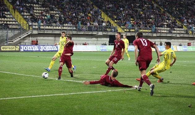 Швед удвоил преимущество украинцев, фото: ФФУ