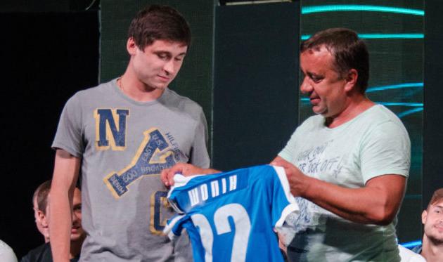 Владимир Шопин (слева), mfc.mk.ua