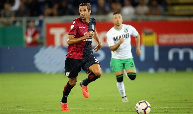 Дарио Срна в дебютном матче против Сассуоло, Getty Images