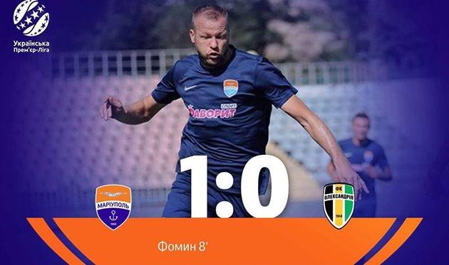 Мариуполь — Александрия 1:0 Видео гола и обзор матча