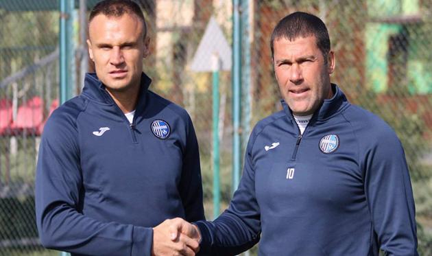 Вячеслав Шевчук и Владислав Гельзин, фото ФК Олимпик