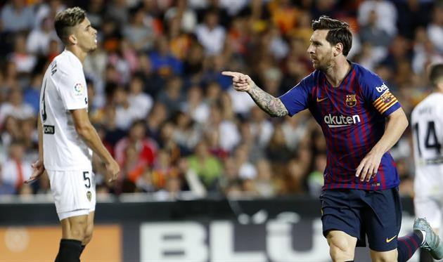 «Барселона» снова потеряла очки в Примере, сыграв вничью с «Валенсией»