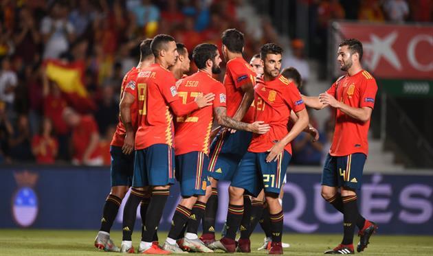Испания - фаворит в матче с Уэльсом, Getty Images