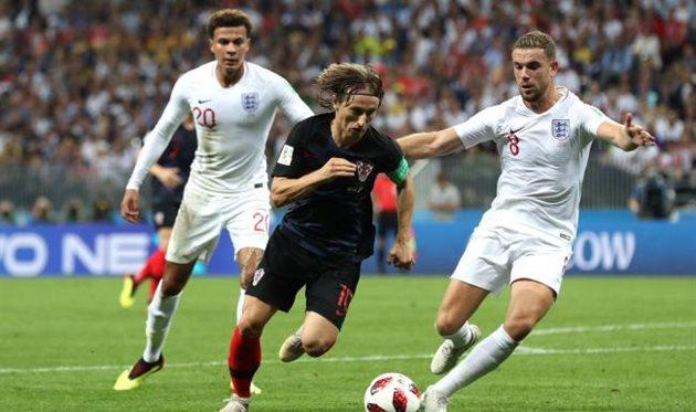 Хорватия — Англия: история противостояний