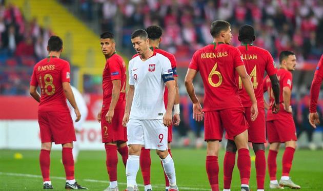 Португалия обыграла на выезде Польшу