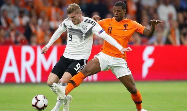 Нидерланды - Германия, twitter.com/dfb_team