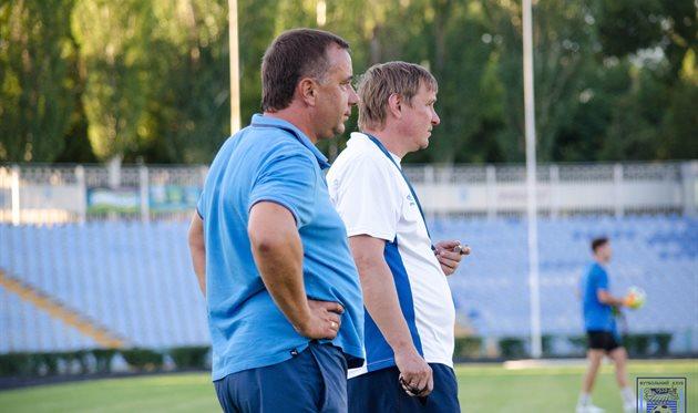 Руслан Забранский (слева), МФК Николаев