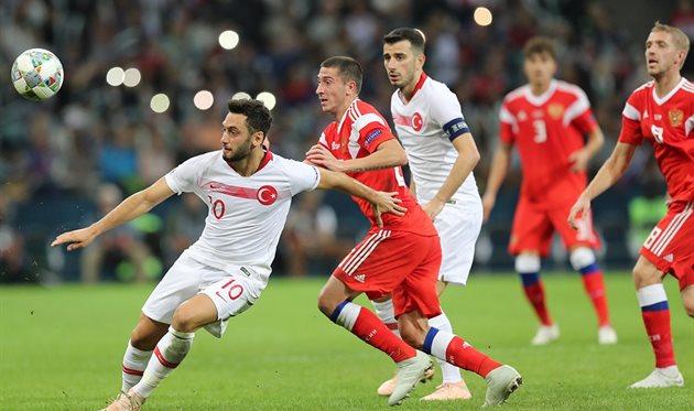 Россия обыграла Турцию, twitter.com/TeamRussia