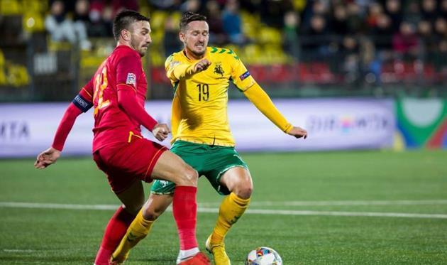 Литва — Черногория 1:4 Видео голов и обзор матча