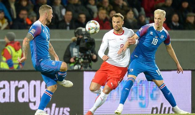 Швейцария обыграла Исландию, UEFA