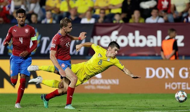 Семь изменений в сборной Чехии после последнего матча с Украиной