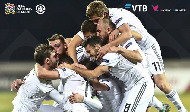Twitter сборной Грузии