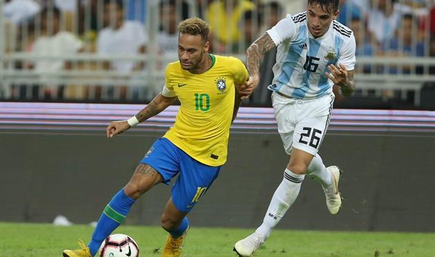 Бразилия обыграла Аргентину вдобавленное время
