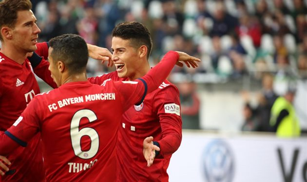 Футбол бавария вольфсбург видео обзор