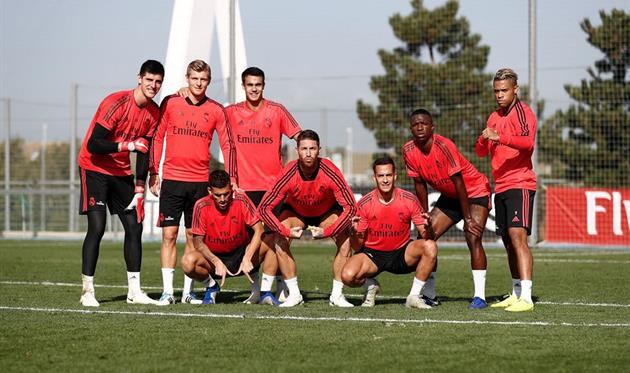 Рамос, Регилон и другие игроки Реала, twitter.com/SergioRamos