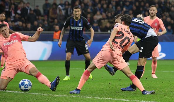 Икарди забивает гол, Getty Images