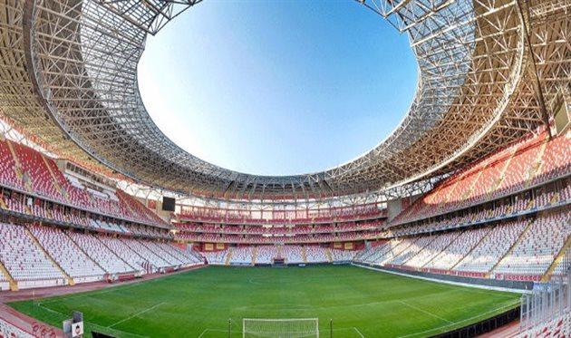 Центральный стадион в Анталии, фото: antalyaspor.com.tr