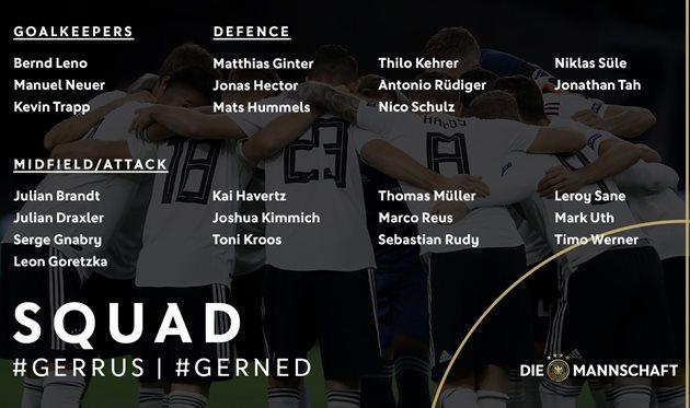 Фото: twitter.com/DFB_Team_EN