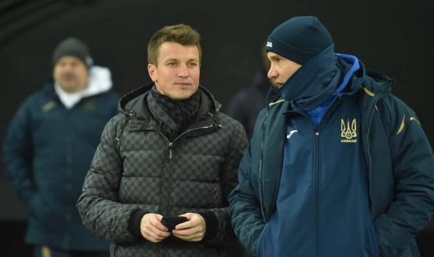 Руслан Ротань (слева), фото: ФФУ