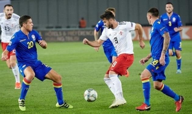 Андорра — Грузия 1:1 Видео голов и обзор матча