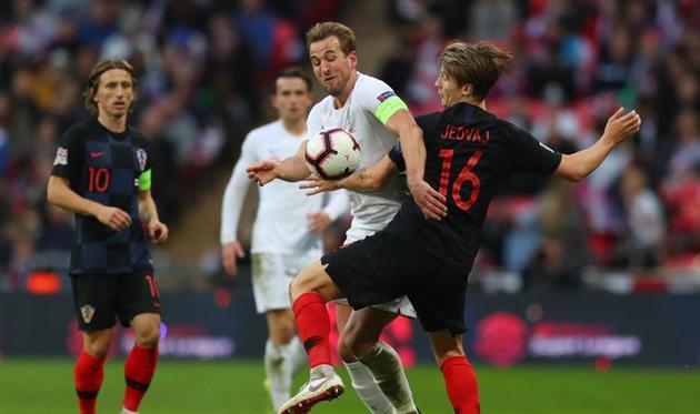 Англия — Хорватия, Getty Images