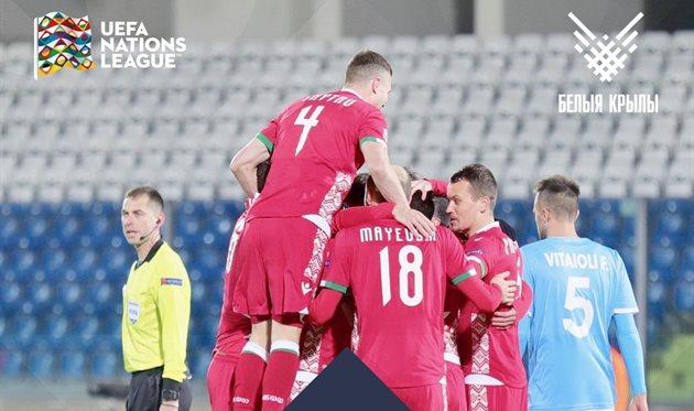 Беларусь вышла в дивизион C Лиги наций