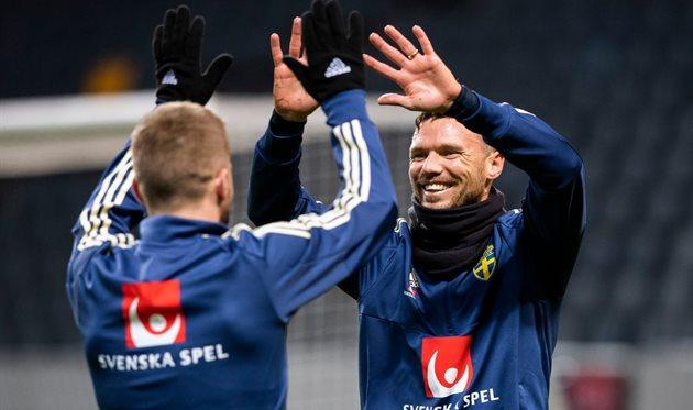 Игроки сборной Швеции, twitter.com/UEFAEURO