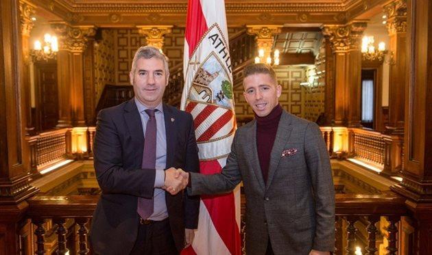 Икер Муниаин (справа), фото: athletic-club.eus