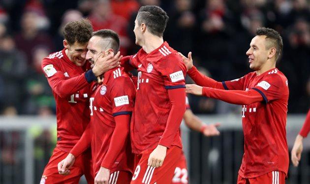 Кубок германия бавария 2- 0 нюрнберг футбол