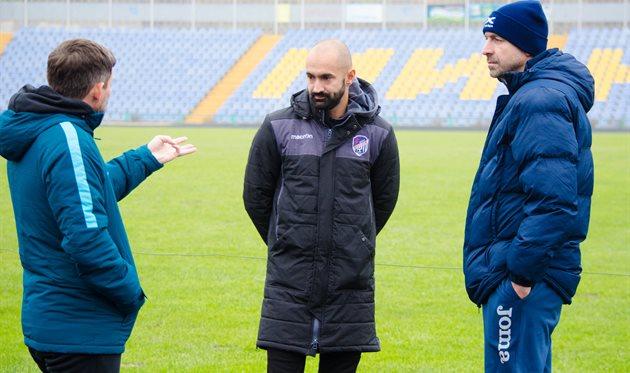 Сергей Шищенко (по центру), фото: МФК Николаев