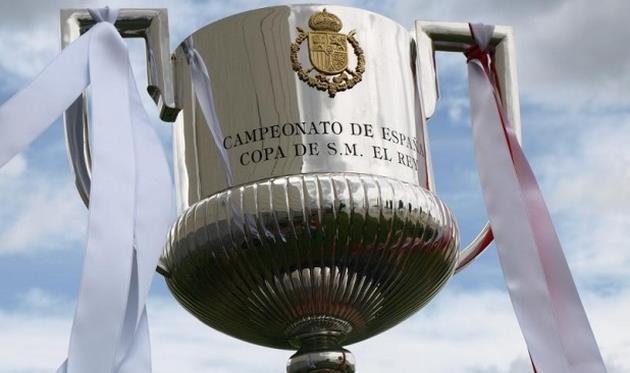 трофей кубка Испании,
