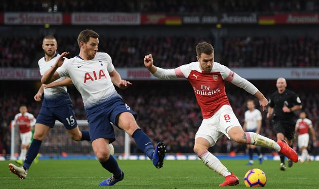 Арсенал - Тоттенхэм, Getty Images