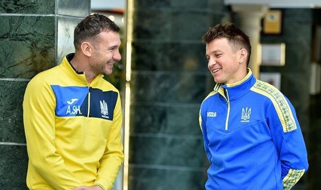 главные тренеры национальной и молодежной сборных Украины