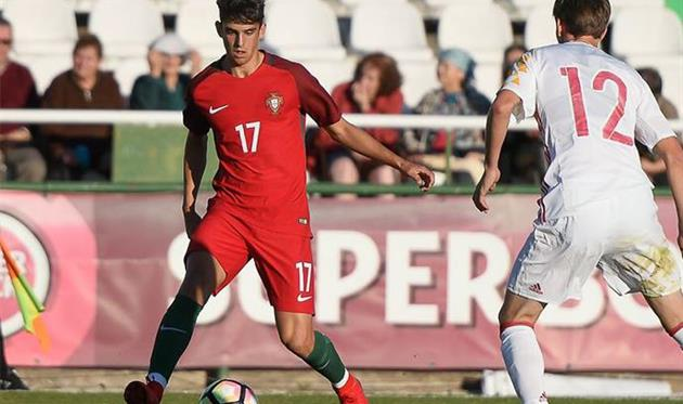 Тринкао, сборная Португалии U—19